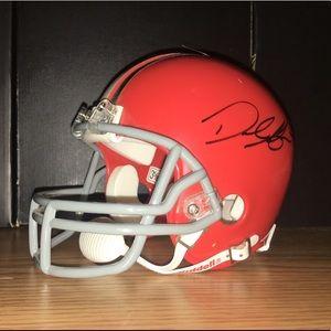 Cleveland Browns Derek Anderson Autograph Helmet